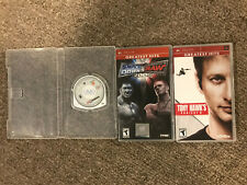 3 - Sony PSP Used Games - 06 Smackdown vs Raw, Tony Hawk's Project 8 & Madden 08