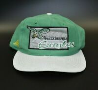 Philadelphia Eagles Vintage 90's Apex One Back Script Snapback Cap Hat