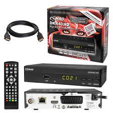 Digital Kabel TV Receiver Kabelreceiver DVB-C HDTV Comag DKR40 USB SCART + HDMI