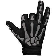 Exalt Death Grip Gloves - Grey / Black - Large - Paintball
