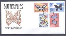 ANTIGUA & BARBUDA 1999, Butterflies, set of 4, FDC (6)