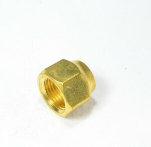 Forged Flare Nut 3/8 Tube OD Hex SAE 45 Fitting FasParts