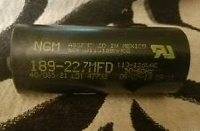 NGM CAPACITOR 189-227 MFD 110-125 VAC 50/60 HZ (Big Size)