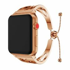 Stainless Steel Watch Band Cuff Bracelet Wriststrap for Apple Watch 3/2/1 Series