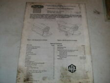 Dayton Portable Oil-Fired Heater Operating Instructions & Parts Manual