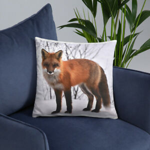 Red Fox Pillow Various sizes