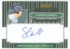 Sawyer Carroll San Diego 08 Razor Signature Auto Black
