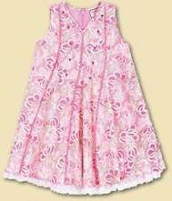 NWT New April Cornell CORNELLOKI Pink A-Line Sweet Floral Deco Tulle Dress 2T