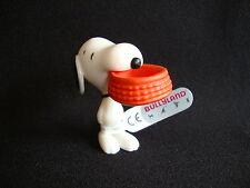 "Snoopy & The Peanuts ""Snoopy mit Fressnapf"" Figur Bullyland-Figuren"