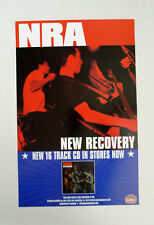 NRA - New Recovery Promo Poster Gearhead New full color punk rock Amsterdam
