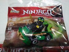 LEGO 30532 NINJAGO LLYOD TURBO CAR POLYBAG RARE HTF