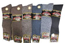 Calze e calzini da uomo marrone in lana