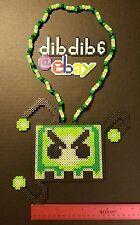 Barely Alive kandi perler neckalce rave EDC PLUR art design hama bead festival