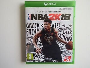 NBA 2K19 on Xbox One in NEAR MINT Condition