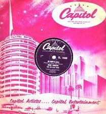 "Classic Gene Vincent 78 ""Be-Bop-a-Lula/femme amour"" uk capitol CL 14599 V +"