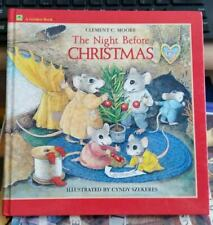 THE NIGHT BEFORE CHRISTMAS Illustrated by  CYNDY SZEKERES 1985 HC