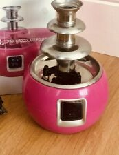 3 Tier Mini Electric Chocolate Fountain Fondue Melting Machine