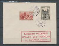 1948 Lettre Obl. Foire Expo BLOIS SUPERBE. C926 C926