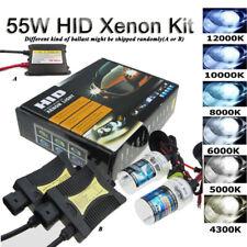 55W HID Xenon Kit H1 H3 H4 H7 H8/H11 9006 HB4 Conversion Headlight Light Ballast