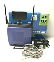 Linksys Cisco Wireless-N Broadband Router Home Networking PC Computer Internet