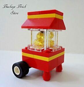 NEW Lego MINIFIG POPCORN MAKER Machine -Stand Minifig Food Belville
