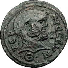 TERMESSOS MAJOR in PISIDIA 2-3CenAD Zeus Tyche Genuine Ancient Greek Coin i58365