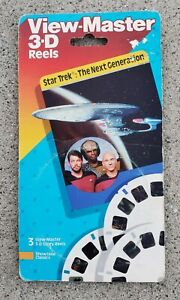VINTAGE FACTORY SEALED 1989 STAR TREK THE NEXT GENERATION VIEW-MASTER 4095