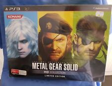 Brand New PS3 Game Metal Gear Solid HD Collection Limited Edition Sealed