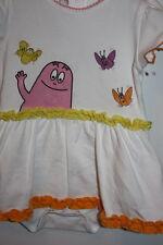 Laura Biagiotti Kleid mit einge. Höschen Gr. 56 Barbapapa - Serie Rüschen