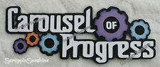 DISNEY Carousel of Progress - Scrapbook Die Cut Title for Pages - SSFFDeb