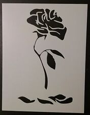 """Enchanted Rose Beauty and the Beast 8.5"""" x 11"""" Custom Stencil FAST FREE SHIPPING"""