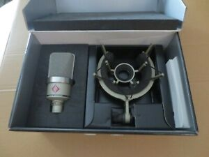 Neumann TLM 102 Mikrofon Studio Set nickel inkl. Spinne  OVP  #30#50#
