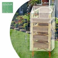 Protective Cover Protective Case Tarpaulin Cover for Your Garden Chairs 105 x 68