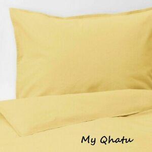 Ikea ANGSLILJA King Duvet cover and 2 pillowcases yellow - NEW