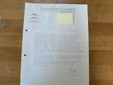HT173-NORTIER EN HARMSZE UITGEVERIJ 1965 REDACTIE HAND SIGNED AUTOGRAPH