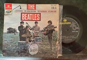 The BEATLES - Parlophone -  MOE 21 004 -  Volume 4 - Yesterday + 3