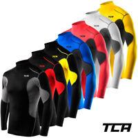 Men's Boy's TCA SuperThermal Compression Armour Base Layer Top Under Shirt Skins