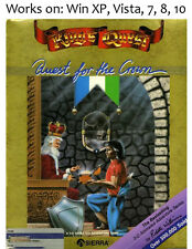 Kings Quest 1 + 2 + 3 PC Game