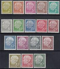 BRD 1954 Nr. 177-196 ** Theodor Heuss Attest BPP