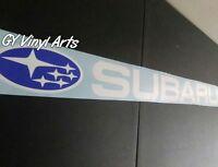 Compare to Subaru Windshield Decal Banner Car Sticker ej20 WRX STI BRZ Impreza
