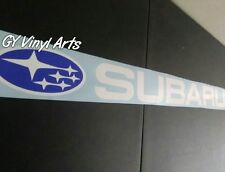 Subaru Windshield Decals Banners Cars Stickers ej20 WRX STI BRZ Turbo Impreza