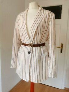 damen H&M blazer 42-44 Sakko Jacke Jacket Casual Übergangsjacke businessblazer
