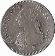 FRANCE 1790, LOUIS XVI ÉCU AUX LAURIES 1790 K (BORDEAUX)