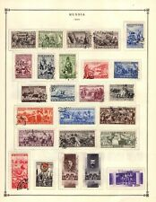 Russia 1933-1940 Collection from Strong Scott International Album