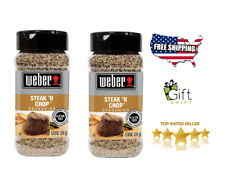 Genuine__Weber Steak 'n Chop Seasoning (8.5 oz.) 2pack