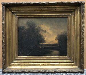 Tableaux Anciens Paysages Ebay