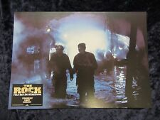 The Rock lobby card  # 7 - Original German Still  Nicolas Cage, Sean Connery