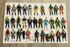 GI Joe Vintage Lot Of 30 Figures Major Bludd Law Duke Shipwreck Freefall Nice!