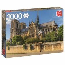 Jumbo Jigsaw Puzzle - Notre Dame France - 1000 Piece 18528 New