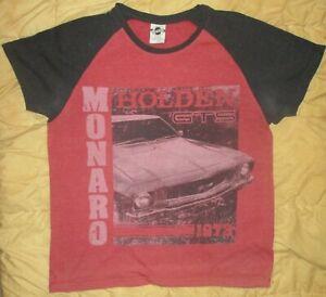 Vintage Holden Monaro GTS 1973 T-Shirt Size Large. Official Holden Merchandise